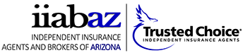 Trusted choice logo for the Independent Insurance Agents and Brokers of Arizona